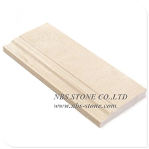 Stone Moulding Lines Marble Baseboard Skirting