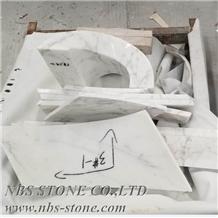 White Marble Irregular Types