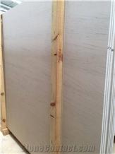 Moca Creme Fine Veincut Limestone Tiles, Slab