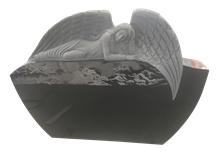 Angel Headstones,India Black,Heart Tombstones