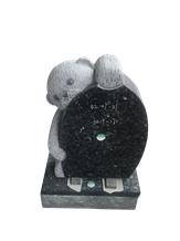 Angel&Heart Heardstones,Blue Pearl,Gravestones