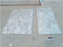 China Arabescato White Marble Wall Tiles