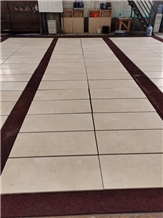 Ksa Crema Marfil Marble Walling Tiles for Project