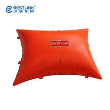 Polymer Cushion Pushing Air Bag for Quarry