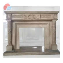 Antique Fireplace with Customized Size for Sale