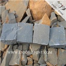 Natural Split Gray Basalto Driveway Paving Stone