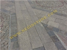 Hammered Classic Marble Pavers, Grey Marble Pavers