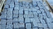 Blue-Grey Basalt Cube Stone, Pavers, Cobble Stone