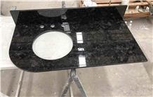 Antique Brown Marron Cohiba Granite Vanity Tops