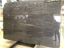 Brazil Brilliant Black Quartzite for Setting Wall