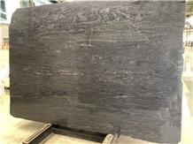 Brazil Brilliant Black Quartzite for Vanity Top