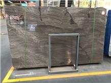 China Earl Grey Marble Slabs for Hotel Bathroom