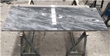 China Himalayan Grey Marble Kitchen Countertop