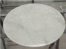 China Hospitality French Vanilla Marble Table Tops