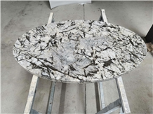 Customizable Ice Blue Granite Table Tops for Hotel