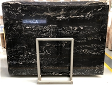 Galaxy Black Blue Night Quartzite for Countertop