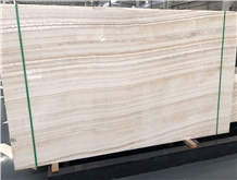 Ivory Akdag White Onyx Veint Cut Quality Slab
