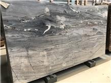Michelangelo Blue Quartzite Slab for Hotel Project