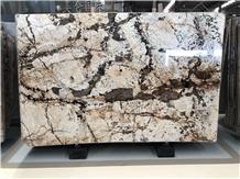 Patagonia White Blanc Du Quartzite Luxury Slabs