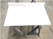 Popular White Quartz Luggage Bench Stone Top