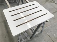 Seashell White Quartz for Bank Drawer Work Tops