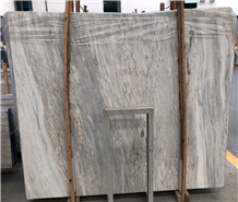 Zebra Jade Wooden Beige Marble Slabs for Wall Clad