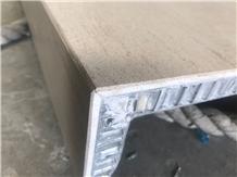 Fossil Wood Limestone Honeycomb Panels