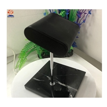 Black Tmarble Watch Display Stand with Leather