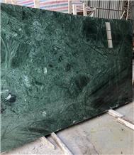 India Dark Green Marble Slabs