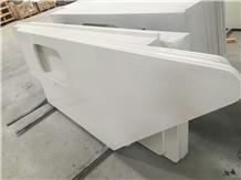 Jazz White Quartz Bar Top,Commercial Counters