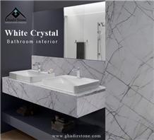 Spider Crystal Marble Tiles & Slab