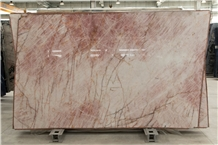 Cristallo Pink Quartzite Slabs