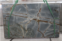 Deep Blue Quartzite Slabs