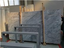 Bardiglio White & Gray Marble Slabs