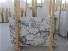 Lilac White Marble Tiles & Slab