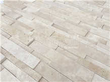 Ledger Light Travertine Unfilled&Honed Mosaic