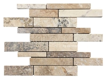 Random Philadelphia Travertine Filled&Honed Mosaic