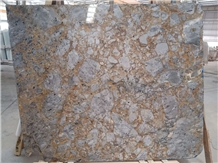 Versace Golden Spider Grey Marble Slabs