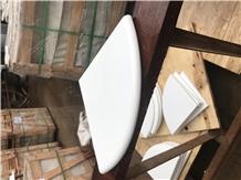 Polish Nano Glass White Corner Shelf Soap Shelf