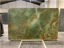 Azul Turquois Emerald Granite Slabs