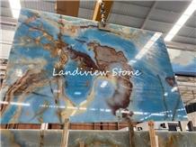 Blue Onyx Glaciale Data on Onice Glaciale