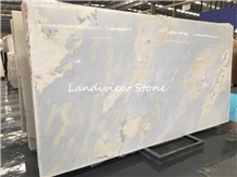 Blue Sky White Cloudy Marble Lumen Marble