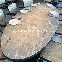 Grigio Fior Di Bosco Marble Table