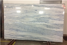 Ice Berg Marble Slab Blue and White Marble