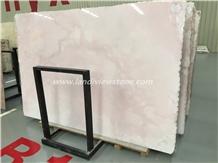 Luxury Pink Onyx Slabs,Pink Jade,Polished Tiles