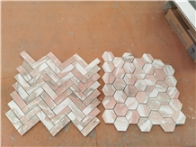 New Marble Mosaic,Red Marble Mosaic