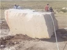 Ivory Beige Marble Block, Tunisia Beige Marble