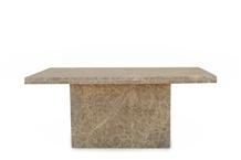 Emperador 60x110 Table Top & Rectangular Leg