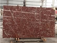 Rosso Antico Italian Quarry Marble Slab Tiles