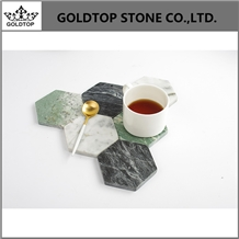 Interior Stone Coasters Natural Marble Coasters